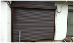 さいたま市北区「スタンダード窓シャッター電動式」お届けしました。