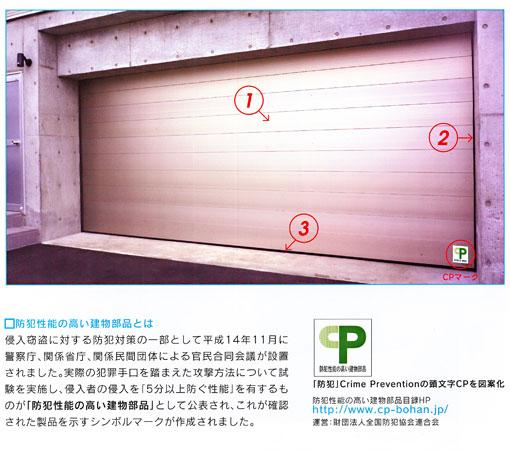 フラットピットBAは、防犯性能の高い製品と認定されたCP製品です。