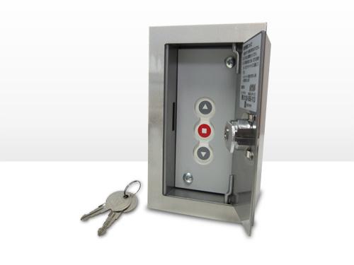 シャッター3点式押ボタンスイッチ(埋込用)