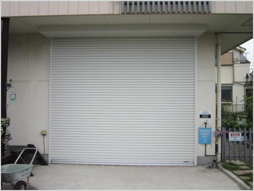 埼玉県加須市K様邸「電動ワイドシャッターモートW型」お届けしました。