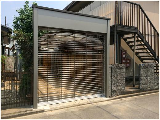 鶴ヶ島市N様邸「ゲートパックハイルックモートR」お届けしました。