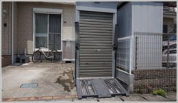 厚木市O様邸バイクガレージ「BOX SHELLO 116」お届けしました。