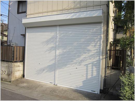 埼玉県上尾市S様邸、軽量シャッター「新セーヌ」お届けしました。