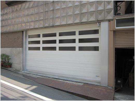 文京区T様邸パネルシャッター「パネテックス」お届けしました。